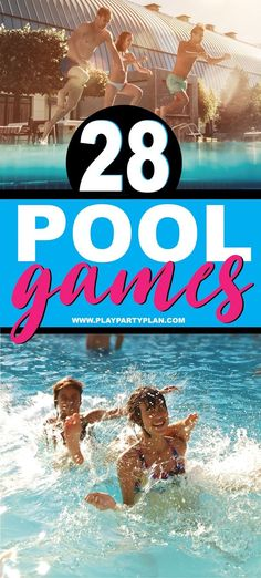 28 of the best pool games for teens, kids, or even for adults! Fun swimming pool… – pin - 28 of the best pool games for teens, kids, or even for adults! Fun swimming pool games you can play - Pool Games To Play, Swimming Pool Games, Pool Party Games, Games To Play With Kids, Pool Activities, Cool Swimming Pools, Best Swimming, Kid Pool, Games For Teens
