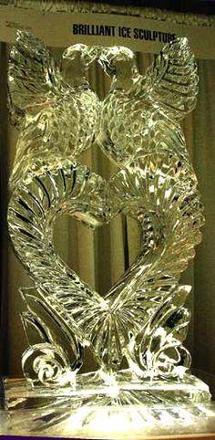Wedding Ice Sculptures from Brilliant Ice Sculpture