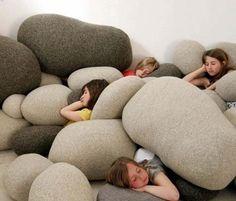 LOVE!!   Pebble Pillow Set