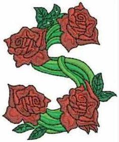 Typography - Gardener Alphabet - Letter S