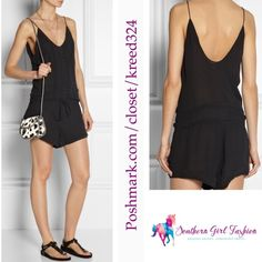 """IRO PARIS Romper Embroidered Apoline Tank Jumpsuit Size US Small, Euro Size 36. New With Tags $298.00  Tonal embroidery.  Drawstring waist.  Double-layered.  Semi-sheer.  Fabric: Lightweight crepe. 100% viscose. Imported, India.  Measurements for Size Small: Inseam: 2.5"""" Bust: 34"""" Waist: 28"""" Hips: 32"""" Length: 27""""   ❗️ Please - no trades, PP, holds, or Modeling.   ✔️ Reasonable offers considered when submitted using the blue """"offer"""" button.    Bundle 2+ items for a 20% discount!    Stop by my…"""
