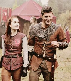 "Dean and Charlie. From ""LARP and the real girl"""