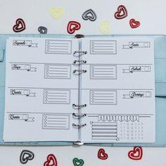 Arquivo gratuito para planner em português inspirado no bullet journal com…                                                                                                                                                                                 Mais