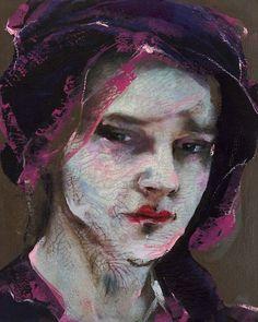 Art Lita Cabellut frida paintings | Found on paperimages.tumblr.com