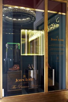 Santa Eulalia Boutique Atelier 1843 Barcelona - The Pearson boot has been designed by John Lobb for Santa Eulalia only