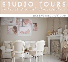 natural light photography studio | Baby Joy Studios photo props