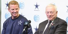 Jerry Jones announces the Cowboys have signed Jason Garrett to a 5 year contract