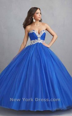 Vestido divino azul – Vestidos de 15 Anos