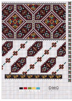 Cross stitching , Etamin and crafts: Traditional cross stitch Pattern Folk Embroidery, Cross Stitch Embroidery, Embroidery Patterns, Cross Stitch Charts, Cross Stitch Patterns, Crochet Cross, Stitch Design, Embroidery Techniques, Craft Patterns