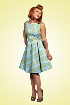 Retrolicious - 60s Elizabeth dress