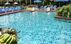 Swimming pool with fruits.. #Pool_remodeling , #Pool_renovation
