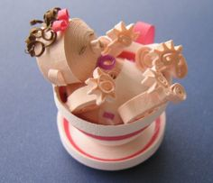 Baby quilling