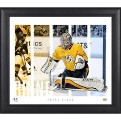 Pekka Rinne Nashville Predators Fanatics Authentic Framed 15   x 17    Player Panel Collage ad4694c87
