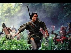 "High quality: http://www.youtube.com/watch?v=42MAk4_DBFc=18    Main title music from the movie, ""Promentory"" by Trevor Jones and Randy Edelman. The movie from 1992 is directed by Michael Mann."