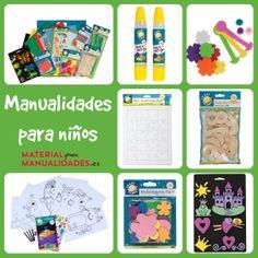 Material para manualidades para niños