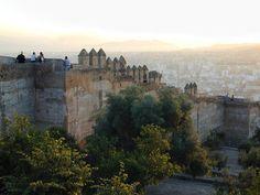 Castillo de Gibralfaro, Málaga, Spain