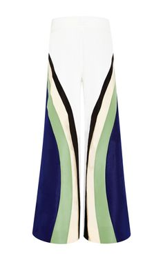 1654725c807 Surf Pant With Cobalt Blue Striping by Rosie Assoulin for Preorder on Moda  Operandi Pants