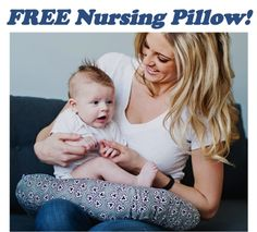 FREE Nursing Pillow! {just pay s/h} ~ these would make fun baby shower gifts, too!