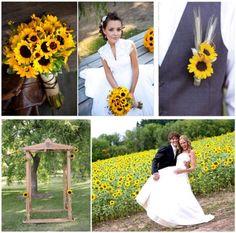 Sunflower Wedding.
