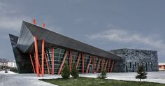 kayseri west city bus terminal by bahadir kul architects in turkey - designboom   architecture