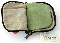 Eggplant Storage Case  For Needles Pins & Jewelry Including