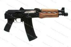Yugo Zastava PAP M85PV AK Style Pistol, Krinkov Pattern, 5.56mm (223), Wood Stock, New.