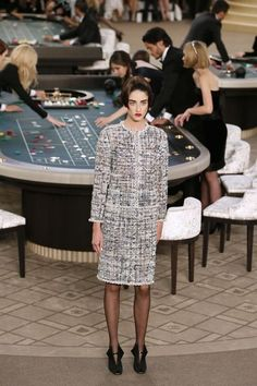 Chanel Couture, Fall 2015 // #fashion // http://www.racked.com/2015/7/7/8905347/chanel-couture-fall-2015-kendall-jenner#?utm_medium=social&utm_source=pinterest&utm_campaign=racked