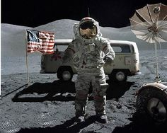 beware the me monster! i walked on the moon