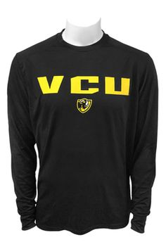 "VCU RAMS /""NIKE/"" Long Sleeve Polo NEW WITH TAGS"