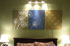 Home-Dzine - Make your own wall art for less