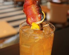 Candied Bacon Maker's Mark Cocktail