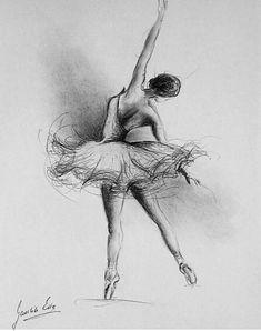balett uploaded by Réka on We Heart It - Dance art - Ballerina Kunst, Ballerina Drawing, Dancer Drawing, Ballet Drawings, Dancing Drawings, Drawing Art, Drawings Of Ballerinas, Dancing Sketch, Easy Pencil Drawings