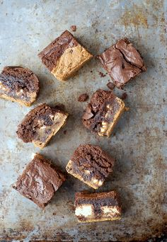 Cookie Dough Snickers Brownies (your family will love you!) Moist, fudgy and delicious. Made with your favorite mixes or from scratch!