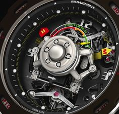 Richard Mille RM 36-01 G-Sensor Sebastien Loeb Limited Edition Watch #Watch