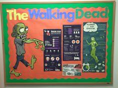 The Walking Dead Sleep Deprivation RA Bulletin Board
