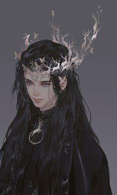 摸鱼斋 (@washanapple) / Twitter Fantasy Character Design, Character Design Inspiration, Character Art, Anime Art Girl, Manga Art, Pretty Art, Cute Art, Aesthetic Art, Aesthetic Anime