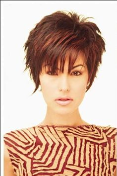 Very Gorgeous and Attractive Pixie cut This is more like it. But why is the previous pic called a bob and this is a pixie? The length seems the same to me.