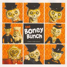 Boney Bunch collection from Yankee Candle! I have many pieces! I just love them!