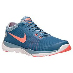 Nike Flex Supreme Tr 4 Womens 819026-400 Ocean Fog Mango Training Shoes  Size 6 d2b738bf0da48