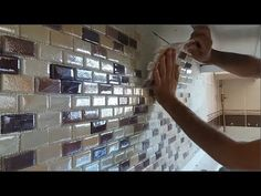 How to install glass mosaics from the tiles master. Tree Crafts, Mosaic Glass, Youtube, Tiles, Organization, Mosaics, Macrame, Home Decor, Interiors