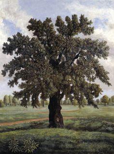 Stephen McKenna (British, born 1939), An English Oak Tree, 1981, oil on canvas, 200 x 150 cm, London, Tate