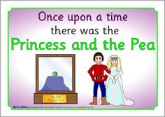 The Princess and the Pea visual aids (SB1706) - SparkleBox