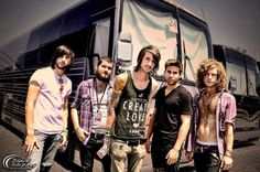 Ladies and gentlemen.... My favorite band..... Which just so happens to be a bit goth but there voices...... MAYDAY PARADE IS THE BOMB.COM