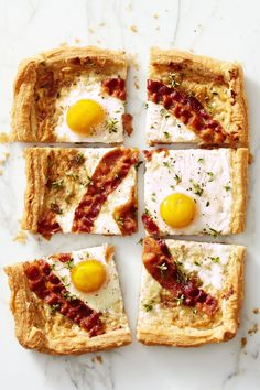 "Bacon Gruyére Breakfast ""Pie"" - GoodHousekeeping.com"