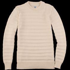 UNIONMADE - Arpenteur - Malo II Sweater in Ecru