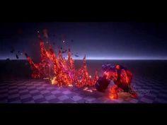 UE4 VFX lightning skill - YouTube