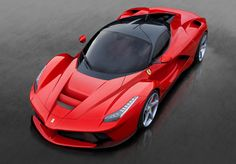 """Innovazione-Lussosità,Utilità(forse meno),ROSSO.. tutte caratteristiche fondamentali per la nuovissima Ferrari """"LA FERRARI"""""""