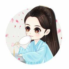 Bạch Thiển - Bai Qian - 白淺 #D_Ever Peach Blossom Tree, Peach Blossoms, Blossom Trees, Creative Pictures, Art Pictures, Eternal Love Drama, Kawaii, Illustration Girl, Anime Chibi