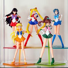 Sailor Moon Megahouse Figures by LilithScream on DeviantArt