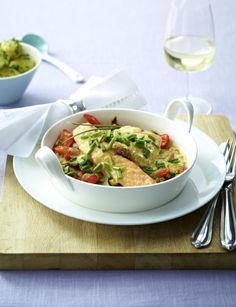 Unser beliebtes Rezept für Gratin von Edelfischen auf Paprika-Porree-Gemüse und mehr als 55.000 weitere kostenlose Rezepte auf LECKER.de.